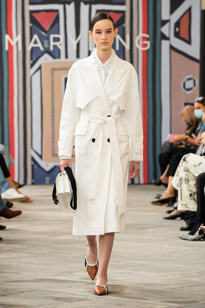 Maryling at Milan Spring 2021 [fashion,fashion model,clothing,white,runway,coat,fashion show,trench coat,street fashion,overcoat,maryling,fashion,trench coat,fashion week,runway,spring,haute couture,coat,milan fashion week,fashion show,milan fashion week,fashion show,ready-to-wear,fashion week,fashion,haute couture,runway,maryling,spring,trench coat]
