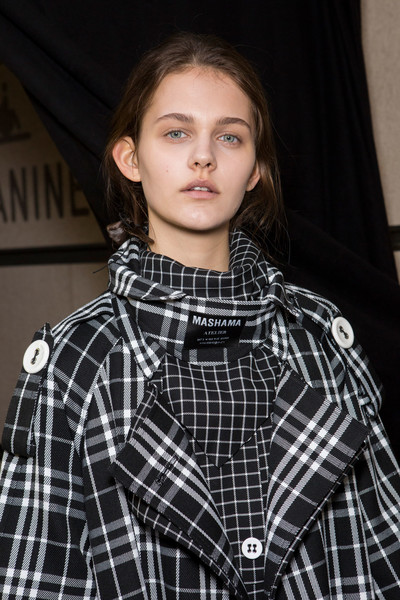 Masha Ma at Paris Fall 2019 (Backstage)