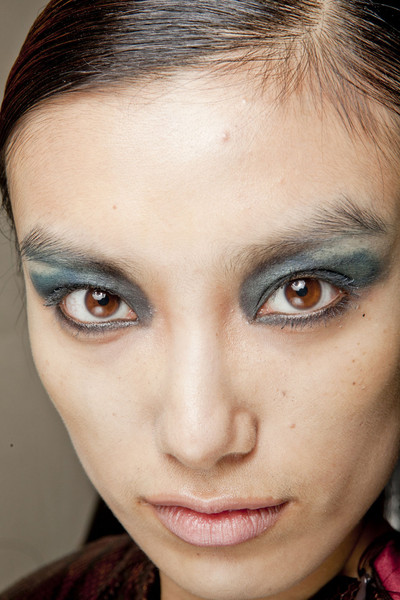 Maurizio Pecoraro at Milan Fall 2012 (Backstage)