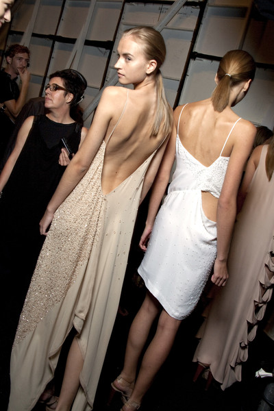 Max Azria at New York Spring 2010 (Backstage)