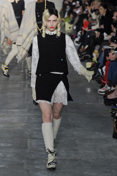 Meadham Kirchhoff at London Fall 2011
