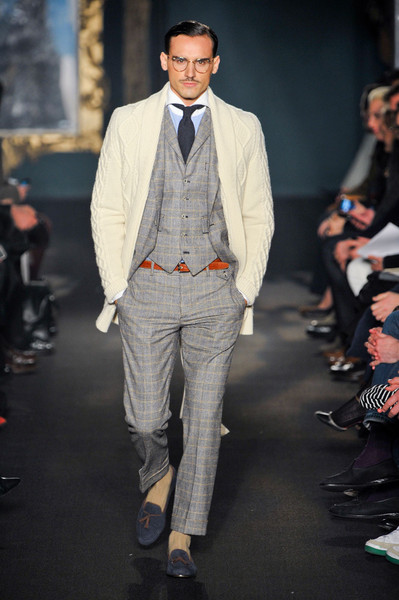 Michael Bastian Mens at New York Fall 2012