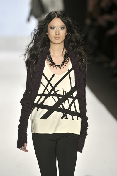 Mila Hermanovski at New York Fall 2010