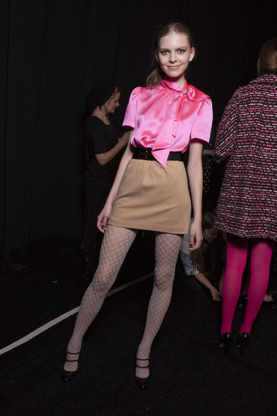 Milly at New York Fall 2010 (Backstage)