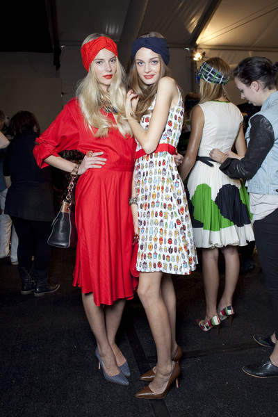 Milly at New York Spring 2011 (Backstage)