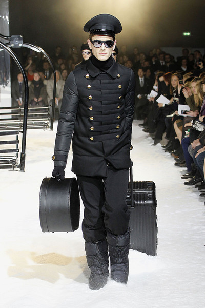 Moncler Gamme Rouge at Paris Fall 2012