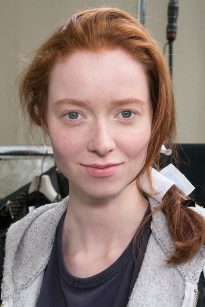 Moncler Gamme Rouge at Paris Fall 2015 (Backstage)