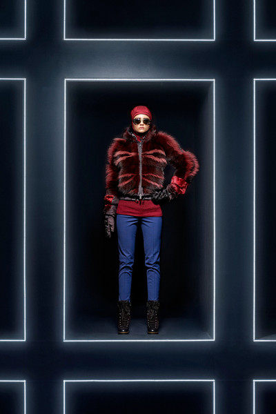 Moncler Grenoble Woman at New York Fall 2014