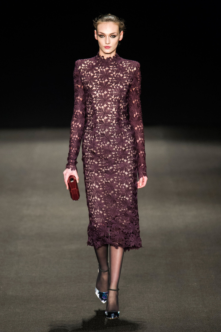 Monique Lhuillier At New York Fashion Week Fall 2015 Livingly