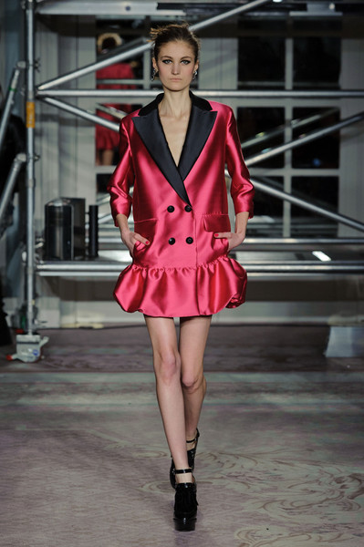 Moschino Cheap & Chic at London Fall 2013