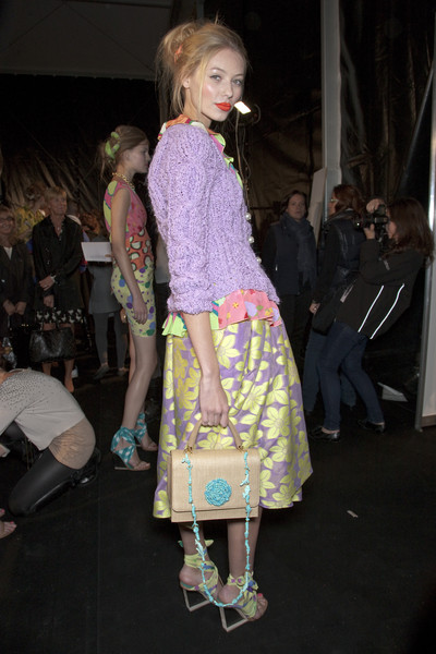 Moschino Cheap & Chic at Milan Spring 2011 (Backstage)