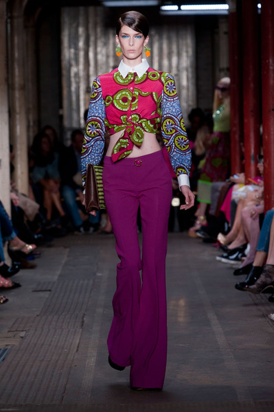 Moschino Cheap & Chic at London Spring 2013