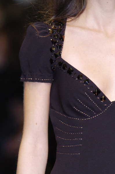 Moschino at Milan Fall 2005 (Details)