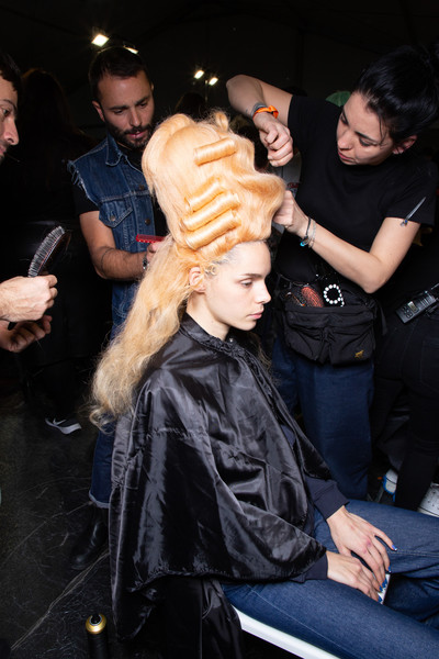 Moschino at Milan Fall 2020 (Backstage)