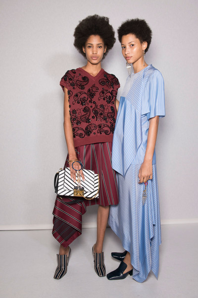f7febe6a90cb Mulberry at London Spring 2017 (Backstage). Mulberry at London Fashion Week  ...