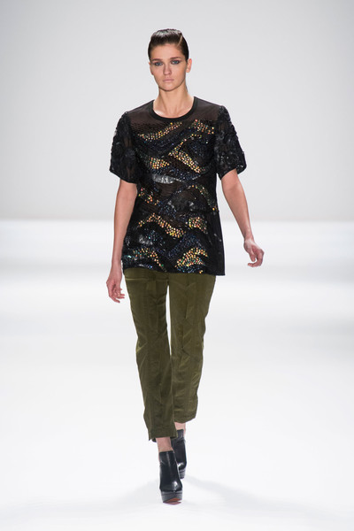 Nanette Lepore at New York Fall 2013