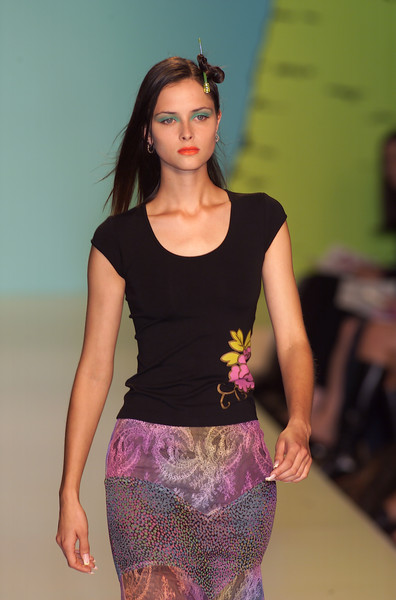 Nanette Lepore at New York Spring 2001