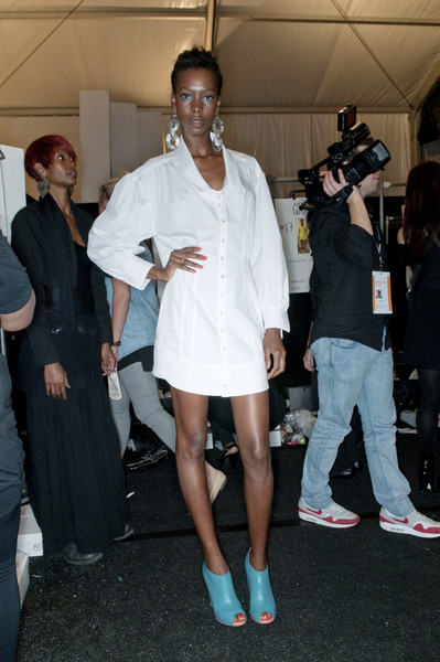 Nanette Lepore at New York Spring 2010 (Backstage)