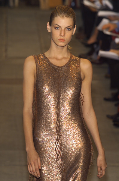 Narciso Rodriguez at New York Fall 2001