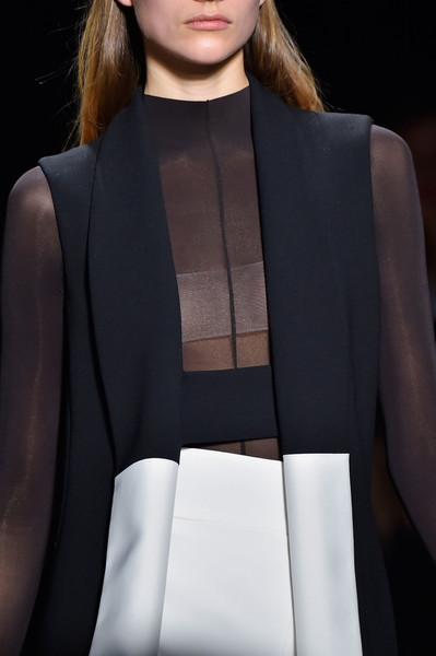 Narciso Rodriguez at New York Fall 2015 (Details) [fashion,clothing,haute couture,shoulder,beauty,fashion model,fashion show,hairstyle,formal wear,neck,narciso rodriguez,supermodel,fashion,haute couture,runway,clothing,fashion model,winter,new york fashion week,fashion show,8m1,runway,narciso rodriguez,autumn,fashion,winter,fashion show,supermodel,haute couture]