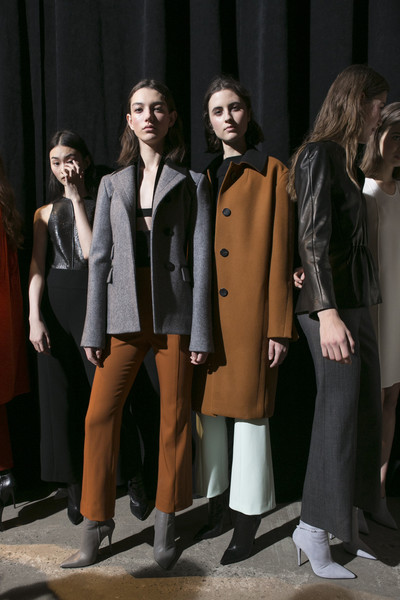Narciso Rodriguez at New York Fall 2017 (Backstage) [new york fashion week,narciso rodriguez]