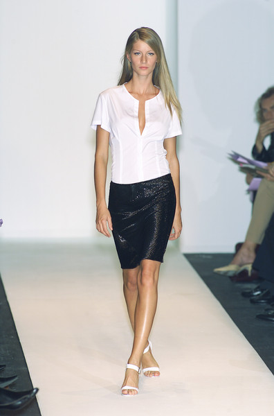 Narciso Rodriguez at Milan Spring 2001