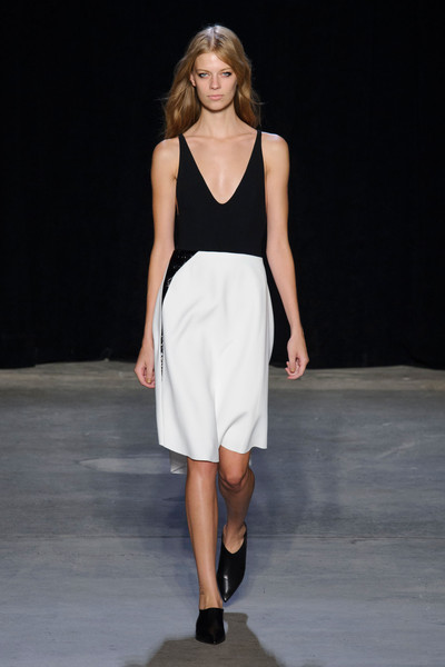 Narciso Rodriguez at New York Spring 2015 [fashion show,fashion model,runway,fashion,clothing,white,dress,shoulder,fashion design,public event,supermodel,narciso rodriguez,fashion,runway,model,spring,vogue,clothing,new york fashion week,fashion show,runway,fashion show,new york fashion week,fashion,vogue,ready-to-wear,model,supermodel,spring,fashion week]