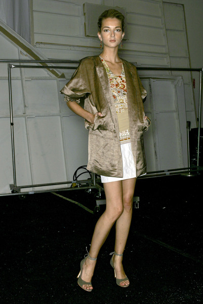 Nicole Miller at New York Spring 2007 (Backstage)