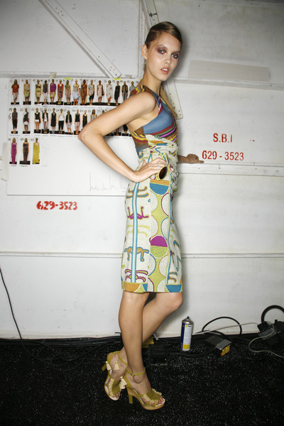 Nicole Miller at New York Spring 2009 (Backstage)