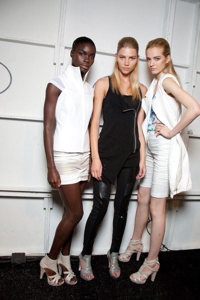 Nicole Miller at New York Spring 2010 (Backstage)