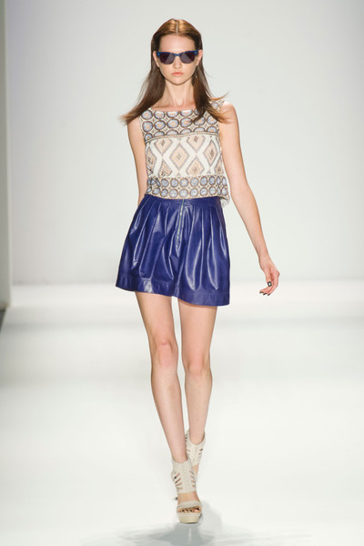 Nicole Miller at New York Spring 2013