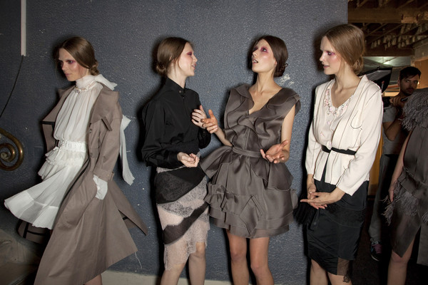 Nina Ricci at Paris Spring 2011 (Backstage)