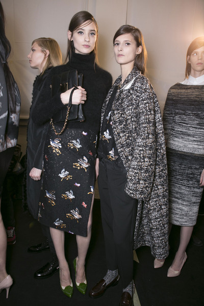 No. 21 at Milan Fall 2013 (Backstage)