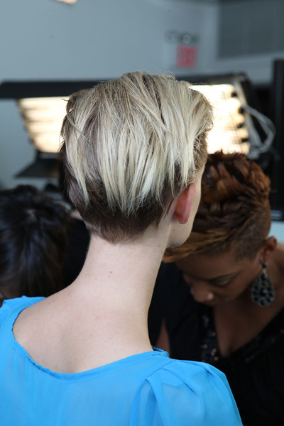 Ohne Titel at New York Spring 2012 (Backstage)