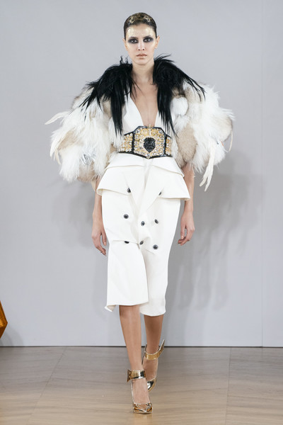 On Aura Tout Vu at Couture Spring 2019