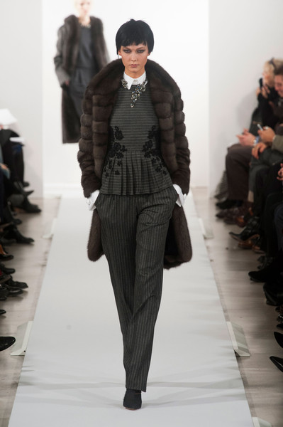 Oscar de la Renta at New York Fall 2014