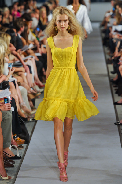 Oscar de la Renta at New York Spring 2012