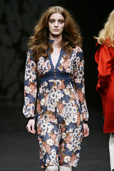 Ossie Clark at London Fall 2009