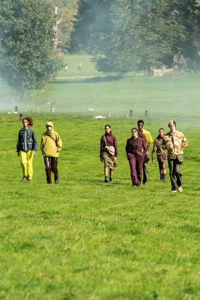 Paria Farzaneh at London Spring 2021 [soldier,military,infantry,military organization,army,uniform,troop,grass,military person,grassland,troop,paria farzaneh,tree,infantry,grasses,uniform,grass,military organization,london fashion week,fashion show,tree / m,grasses,infantry,the meadows,fashion show,military organization,ready-to-wear,troop,landscape,lawn]