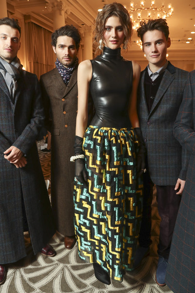 Paul Costelloe at London Fall 2018 (Backstage)