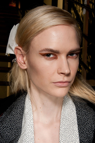 Pedro Lourenço at Paris Fall 2012 (Backstage)