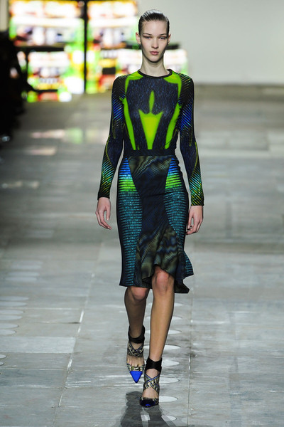 Peter Pilotto at London Fall 2012