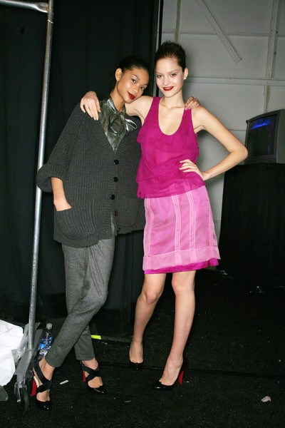 Peter Som at New York Fall 2007 (Backstage)
