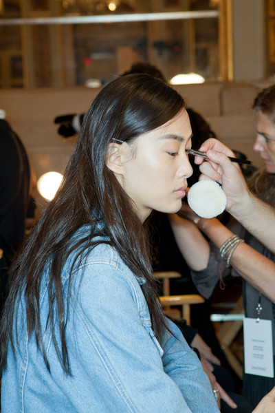 Philosophy di Alberta Ferretti at New York Spring 2013 (Backstage)