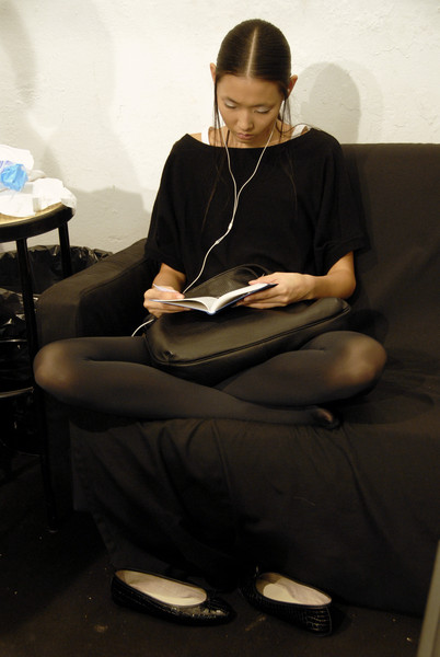 Pollini at Milan Spring 2007 (Backstage)