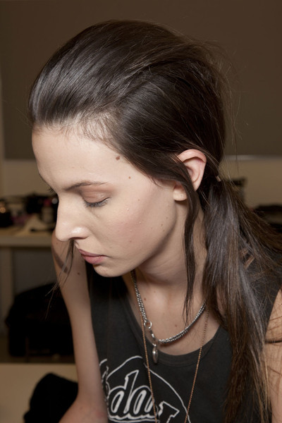 Prada at Milan Fall 2011 (Backstage)