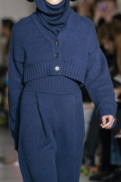 Pringle of Scotland at London Fall 2019 (Details) [fashion,blue,clothing,cobalt blue,fashion show,runway,electric blue,haute couture,outerwear,human,fashion,runway,haute couture,fashion week,model,blue,london,pringle of scotland,london fashion week,fashion show,london fashion week,runway,fashion show,fashion,fashion week,haute couture,pringle of scotland,model,london]