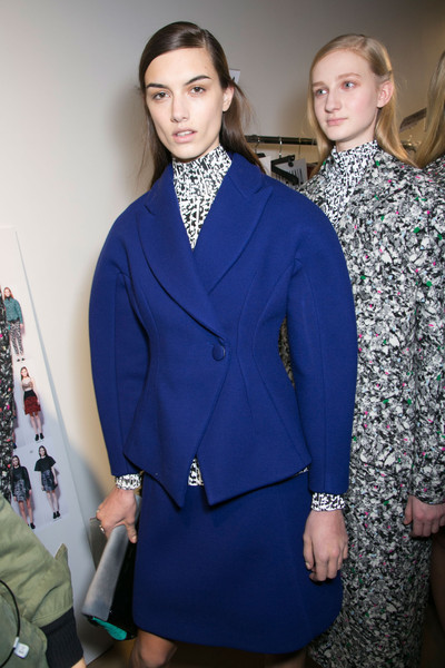 Proenza Schouler at New York Fall 2014 (Backstage)