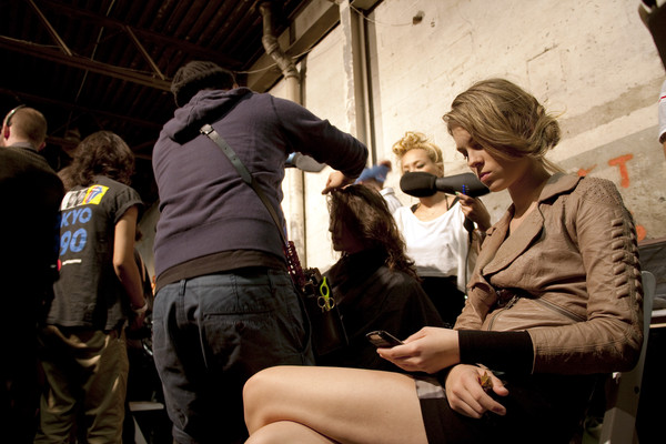 Proenza Schouler at New York Spring 2011 (Backstage)