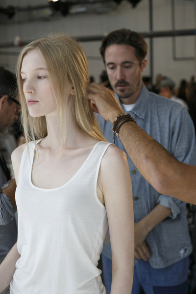 Proenza Schouler at New York Spring 2014 (Backstage)